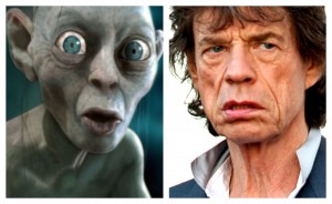 Gollum and Mick